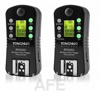 2x Wyzwalacz lamp Yongnuo, model RF-605C do Canon C1